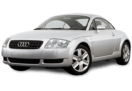 Дефлекторы на боковые стекла (Ветровики) для Audi (Ауди) TT (8N) 1998-2006