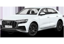Дефлекторы на боковые стекла (Ветровики) для Audi (Ауди) Q8 I 2018+