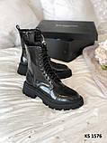 Balenciaga (чорні/лакированны) cas, фото 2