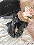Balenciaga (чорні/лакированны) cas, фото 6