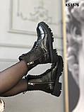 Balenciaga (чорні/лакированны) cas, фото 5
