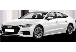 Дефлекторы на боковые стекла (Ветровики) для Audi (Ауди) A7 II 2017+