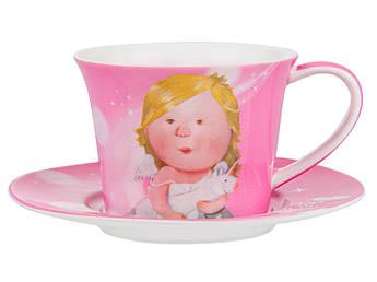 Чайный набор для одной персоны Гапчинская Gapchinska LOVE YOU MORE 2пр
