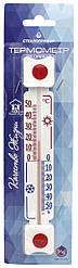 """Термометр віконний ТБ-3-М1 вик. 5д «Склоприлад» """"Прямокутний"""""""