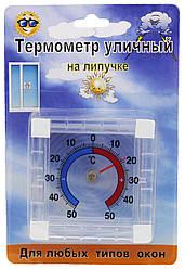 Вуличний стрілочний термометр на липучці