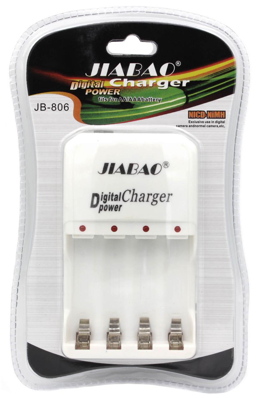 Зарядное устройство на 4 аккумулятора ART JB-806 AA/АAА - R3/R6