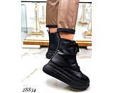 Ботинки зимние на  платформе, фото 3