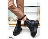 Ботинки зимние на  платформе, фото 5