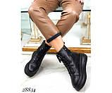 Ботинки зимние на  платформе, фото 6