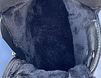 Ботинки женские Евро-Зима 8 пар в ящике черного цвета 36-40, фото 4