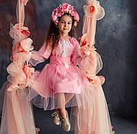 Плаття для дівчинки Ніжність рожеве