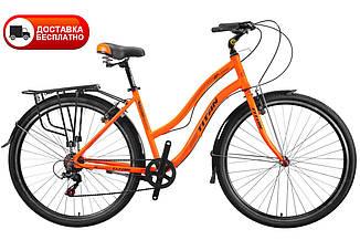 Городской алюминиевый дорожный велосипед Titan Elegant 28  (7 sp) женский