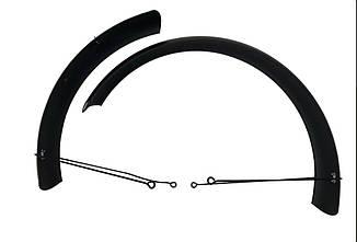 Металлические крылья для фэтбайка 26/4.0, щитки для велосипеда (внедорожник) комплект