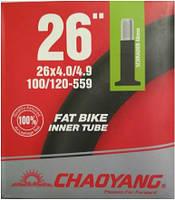 Камера (велосипедна) 26x4,00/4,90 A/V BR посилена товста BIKE Chao Yang - Top Brand