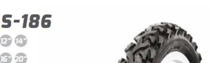 """Покришка (велосипедна) 14x1,75 (47-254) 14"""" S-186 BREAKER ANTIPUNCTURE SAMURAY HRPR Delitire"""