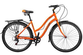 Городской алюминиевый дорожный велосипед Mbike Elite 28  (7 sp) женский