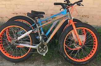 Велосипед внедорожник фэтбайк Crossover Fat Like 26 (fatbike) 2019 All