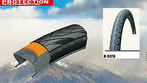 Покришка (велосипедна) 700x35C (32-622)700 H-5126 АНТИПРОКОЛ 5 Level 5mm Rhino skin's Chao Yang - Top Brand