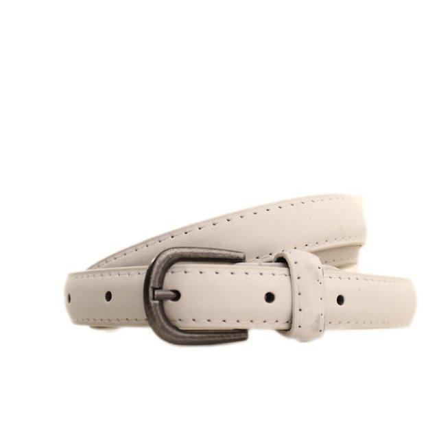 Ремень Casa Familia белый L1510W50 95-100 см