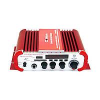 Автомобильный усилитель звука CMaudio CM-2042U Karaoke 600W Red (4_00186)