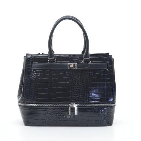 Женская сумка David Jones 6421-2T черная, фото 2