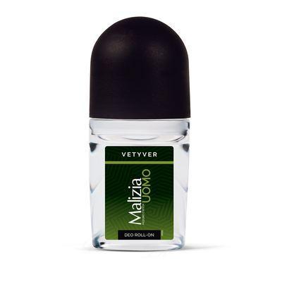 Дезодорант кульковий Malizia Uomo Vetyver 50мл.