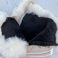 Ботинки женские зимние 8 пар в ящике бежевого цвета 36-41, фото 4