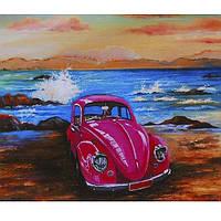 """Картина по номерам на холсте 40*50см""""Поездка к морю"""" RSB8301_O"""