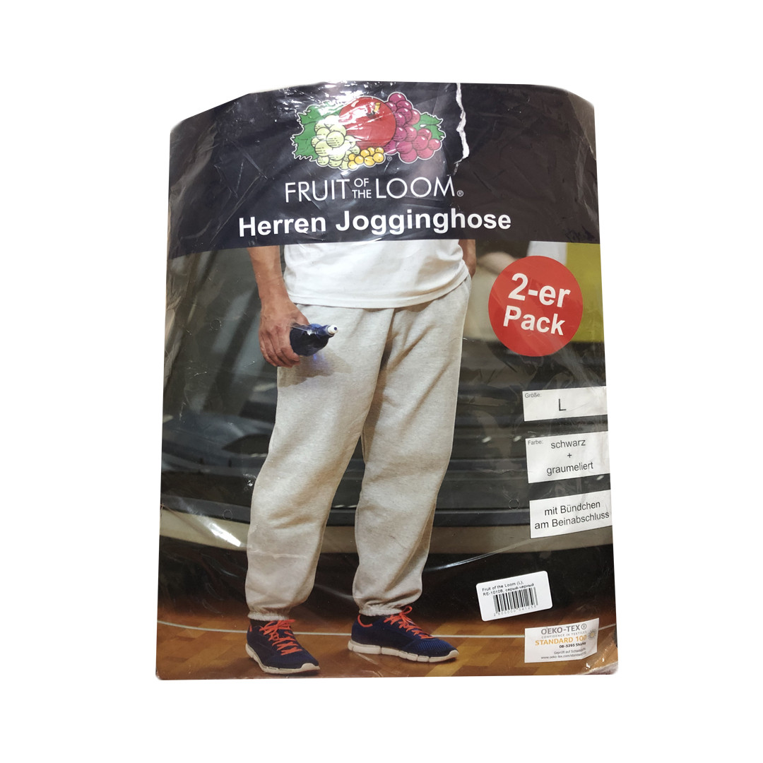 Мужские спортивные штаны Fruit of the Loom 2 шт. L, XL