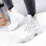Ботинки женские Rebeca белые ДЕМИ 2445, фото 2