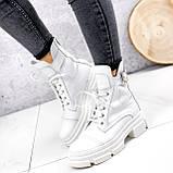 Ботинки женские Rebeca белые ДЕМИ 2445, фото 9