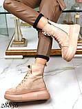 Ботинки женские зимние бежевые 28836, фото 8