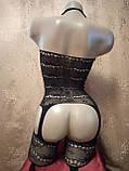 Сексуальная боди сетка бодистокинг сексуальное белье эротическое белье, фото 4