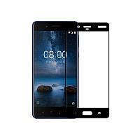 Захисне скло Glass Nokia 8 Full Glue black