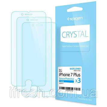 Защитная пленка Spigen для iPhone 8 Plus / 7 Plus (043FL20465) + Бесплатная поклейка