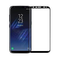 Захисне скло Glass Samsung G955 Galaxy S8 Plus 9D black