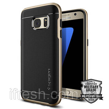 Чехол Spigen для Samsung S7 Neo Hybrid, Champagne Gold