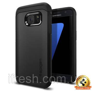 Чехол Spigen для Samsung S7 Tough Armor, Black
