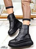 Ботинки женские зимние черные 28834, фото 3
