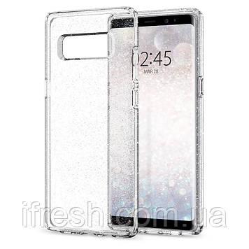 Чехол Spigen для Samsung Note 8 Liquid Crystal Glitter
