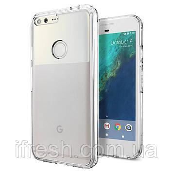 Чехол Spigen для Google Pixel XL Ultra Hybrid, Crystal Clear (F15CS20905)