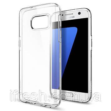 Чехол Spigen для Samsung S7 Liquid Crystal