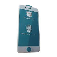 Захисне скло Glass iPhone 7 Plus, 8 Plus Polymer Nano white