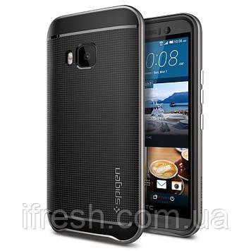 Чехол Spigen для HTC One M9 Neo Hybrid, Gunmetal