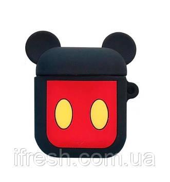 Чехол для Apple AirPods, силикон, MickeyMouse