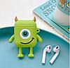 Чехол для Apple AirPods, силикон, Big eyes (Monsters), фото 2