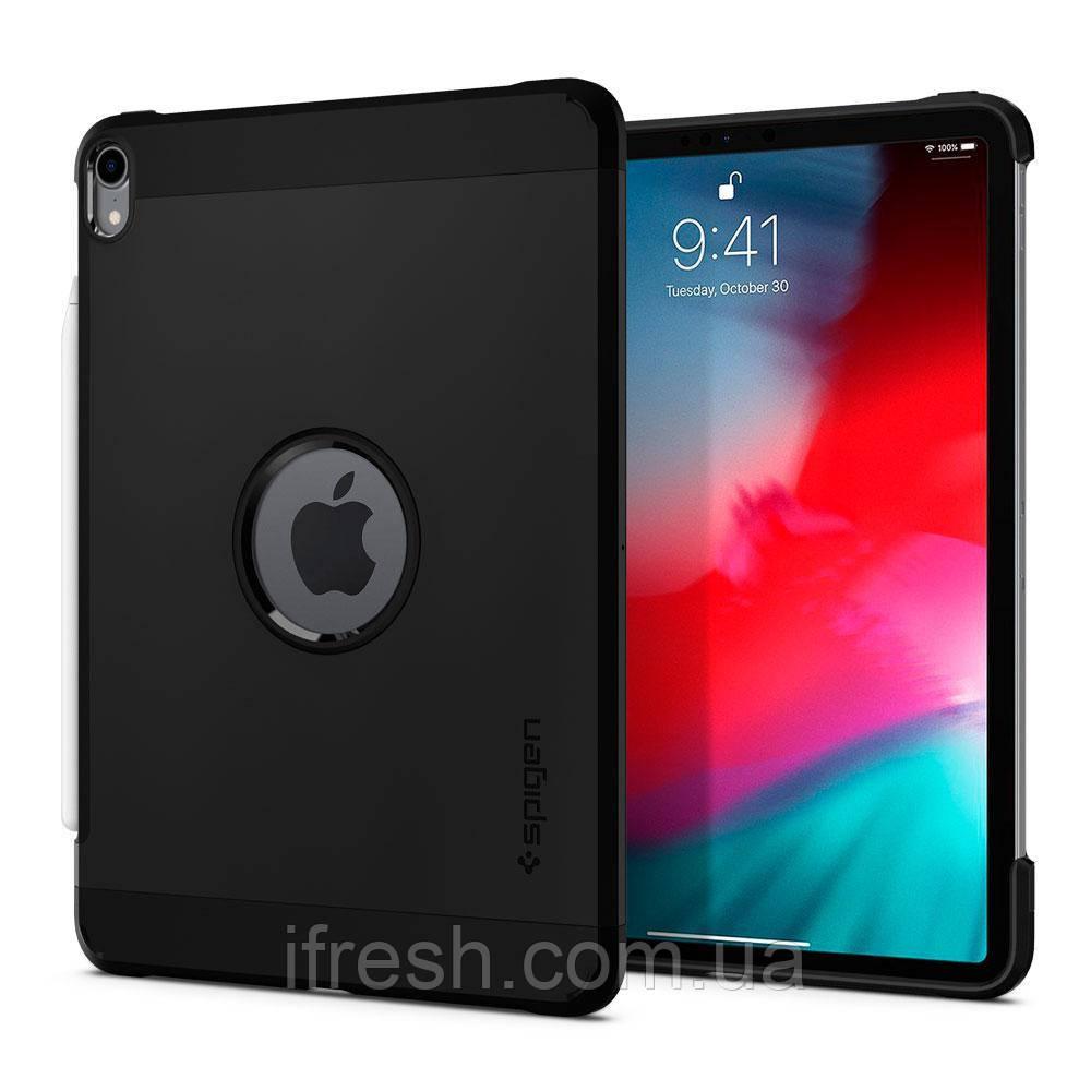 """Чехол Spigen для iPad Pro 11"""" (2018) Tough Armor, Black (067CS25218)"""