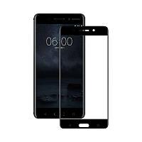 Захисне скло Glass Nokia 6 9D black