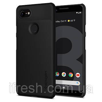 Чехол Spigen Thin Fit для Google Pixel 3, Black (F19CS25038)