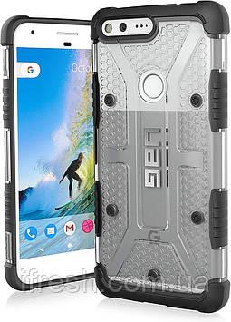 Чехол Urban Armor Gear для Google Pixel XL Plasma Series, Ice (GPIXXL-L-IC)